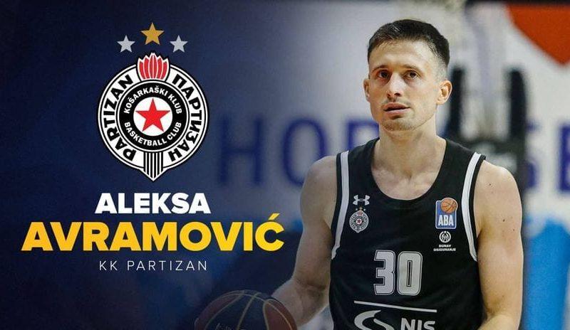 Avramović potpisao za Partizan, ugovor na dve godine